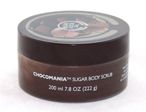 chocomania chocolate sugar scrub