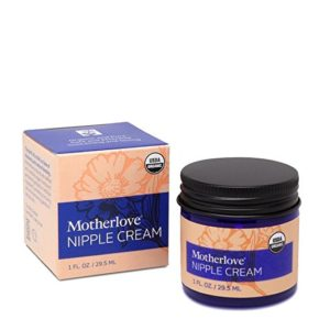 mother love natural nipple cream